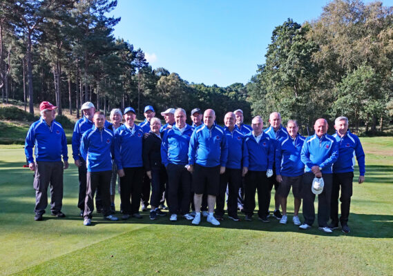 SBGS Team 2019 win Auld Enemies Cup at Ashdown Forrest